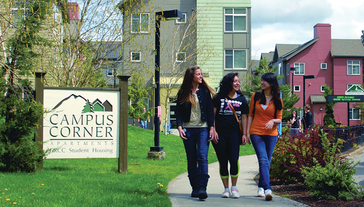 Boende Green River College Campus Corner Apartments