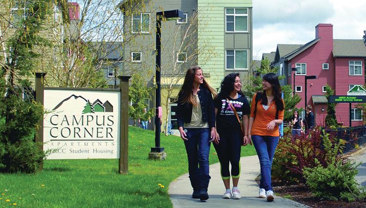 Boende Green River College Campus Corner Apartments